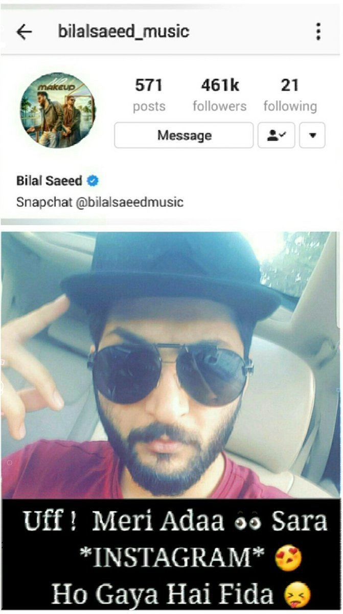 bilalsaeed_music hashtag on Twitter