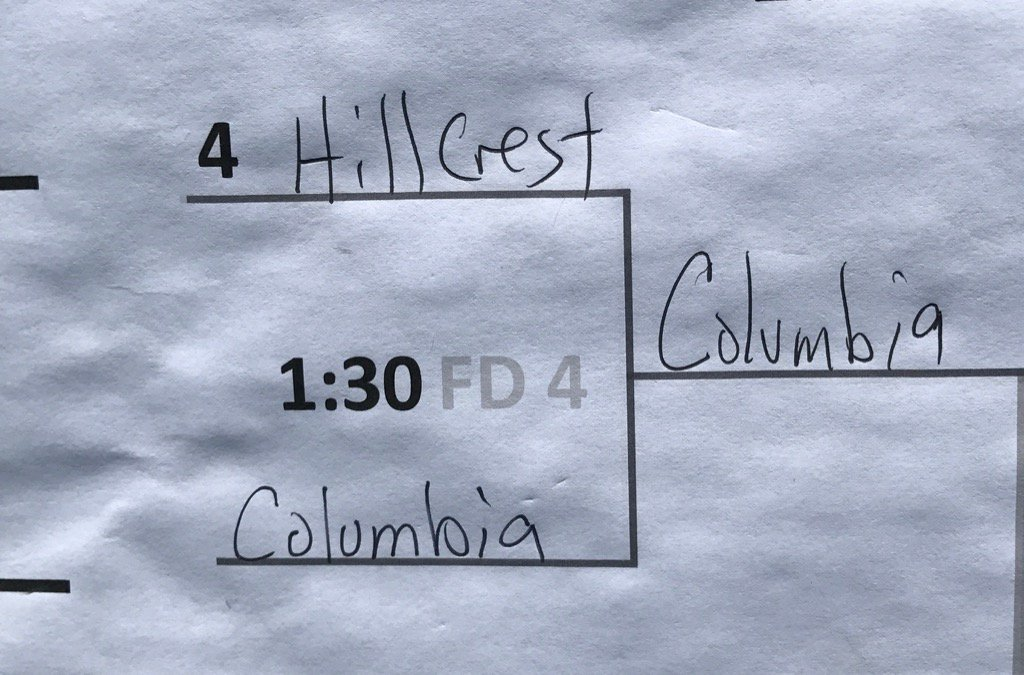 #Columbia with the upset over @rams_hhs! #Powerade7on7<br>http://pic.twitter.com/C51ejxLgcu