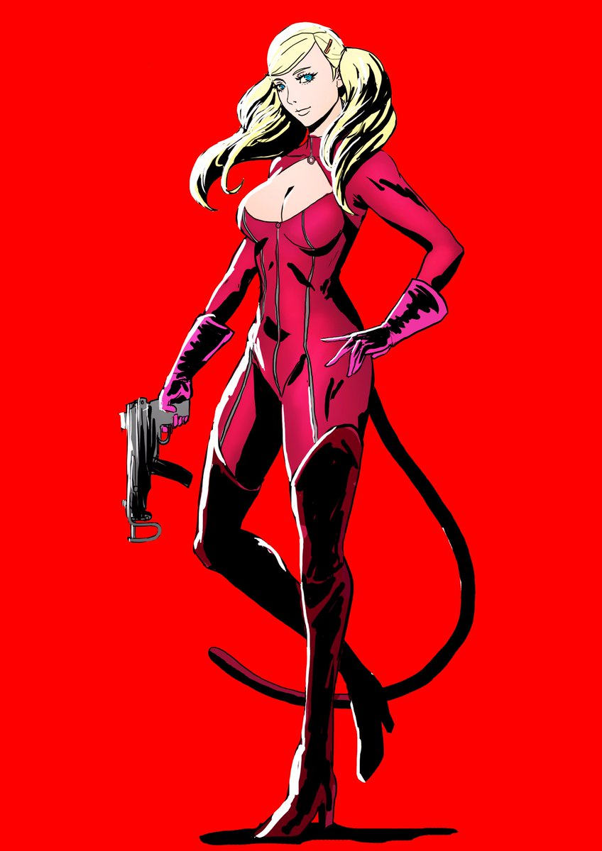 Ann is an awesome bro.  #Persona5 #atlus #Panther<br>http://pic.twitter.com/gBHGfOmQTR