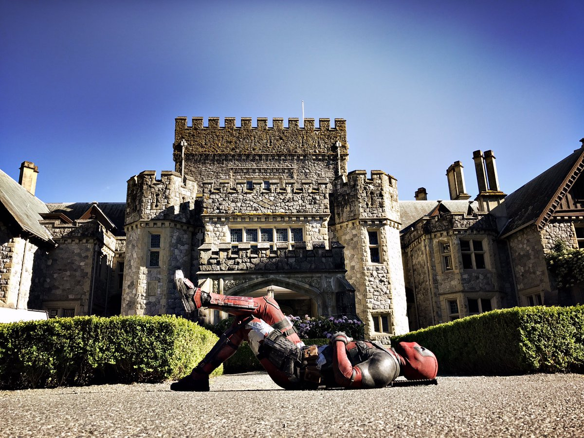 Deadpool 2: Set Picture Reveals a Return to the X-Mansion