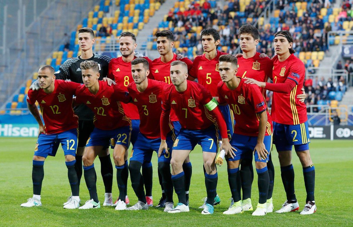 Чемпионат Европы U-21. Испания забивает 5 безответных мячей Македонии