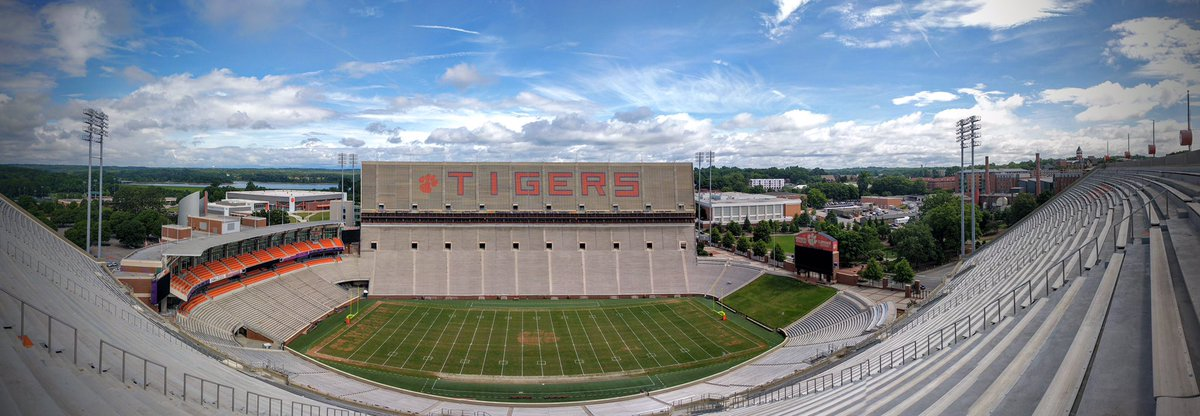 Home of the Champions.   #DeathValley 🐅🐾 #Clemson https://t.co/H1am2XC...