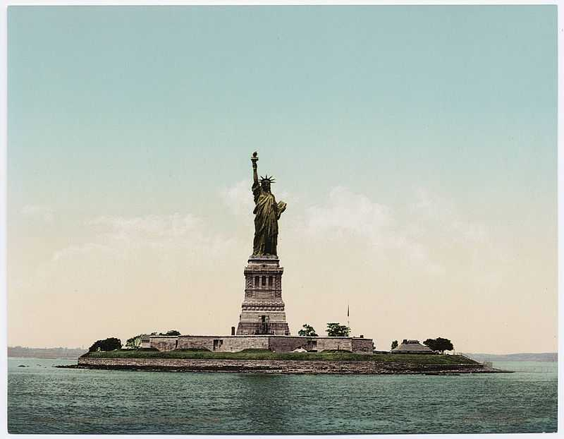 HISTORY: On this day in 1885, the Statue of Liberty arrived in New York Harbor.