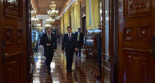 Presidente de México @EPN y @Almagro_OEA2015 inaugurarán la 47 #Asambl...