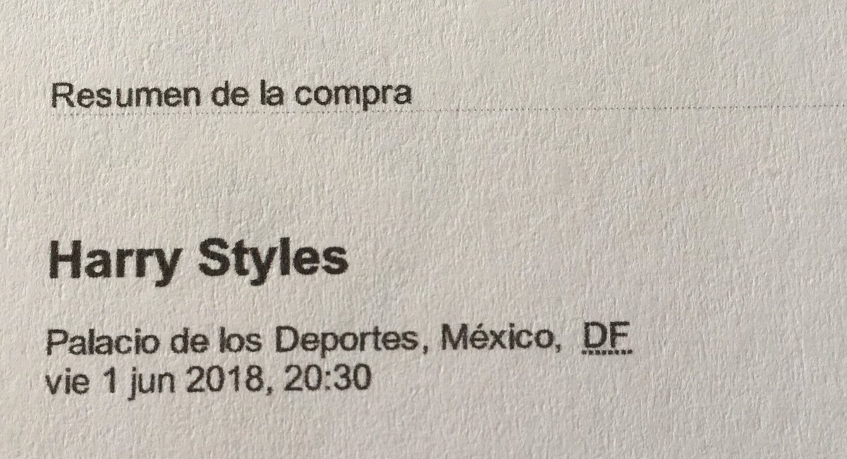 I FORGOT TO POST IT BUT I AM GOING TO HARRY STYLES CONCERT  SEE YOU NEXT YEAR BABY  #HarryStylesMexico <br>http://pic.twitter.com/WQNoKqrgad