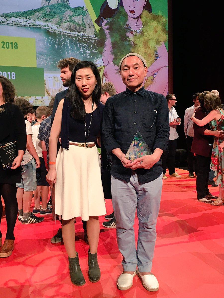 アヌシー国際アニメーション映画祭で「夜明け告げるルーのうた」が長編部門クリスタル(グランプリ)を受賞しました!日本の作品が長編部門クリスタルを受賞するのは22年ぶりの快挙です! #annecyfestival #夜明け告げるルーのうた