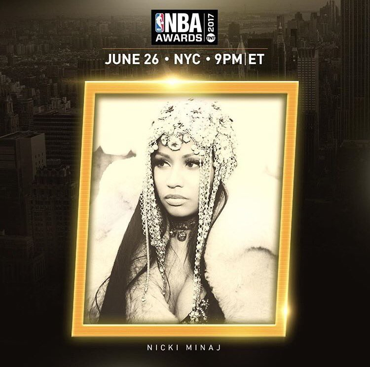 My darlings, this is the ONLY award show Ill be attending this month. Set your DVRs. You wont want to miss this PERFORMANCE 🎀 #NBAAwards