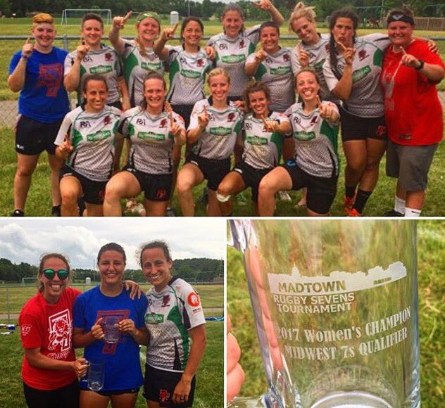 So proud of our ladies winning the MadTown 7s today, first of 3 @midwestrugby qualifiers &amp; Dash is MVP #oneclub #champs @Athletico @clrfc<br>http://pic.twitter.com/Ro3jicgxxM