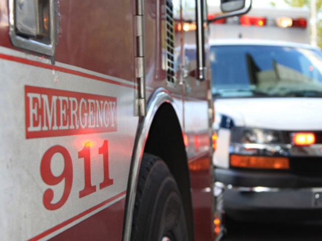 Firefighter hospitalized after 2-alarm fire in Largo