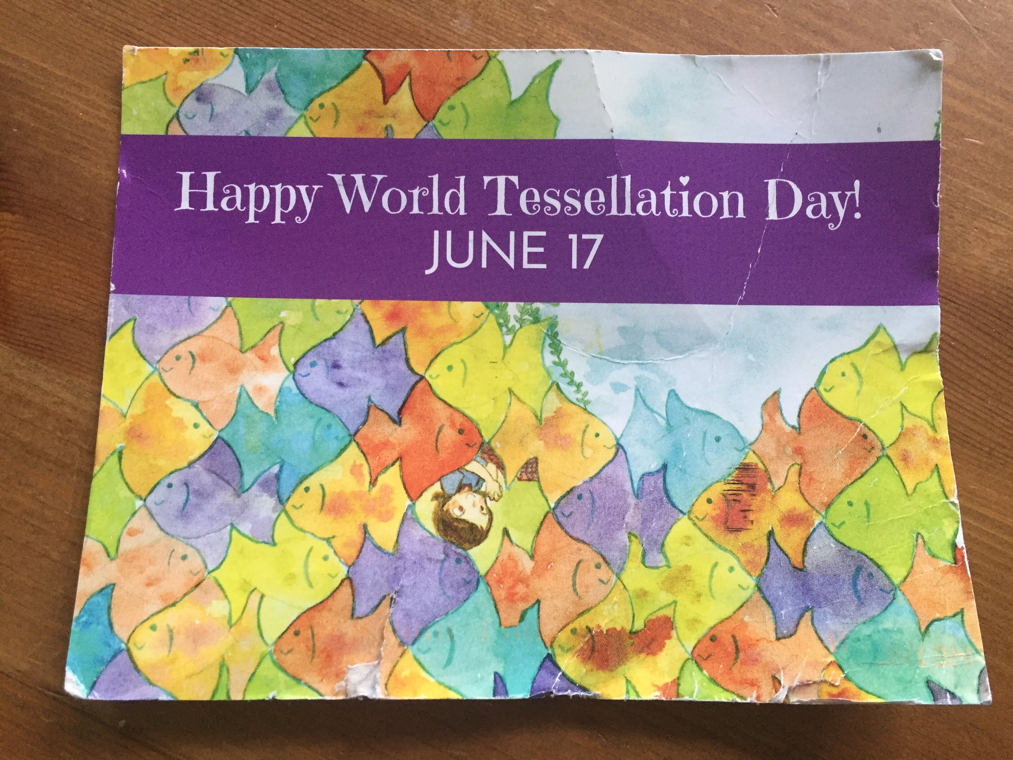 Where do you see tessellations in the world around you? Happy #WorldTessellationDay ! #bced #sd38learn https://t.co/MaRZHrHv3Q