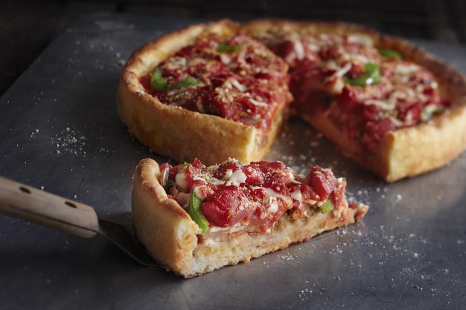 Nueva pizza de United Airlines. / Twitter