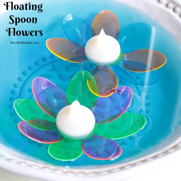 DIY Floating Spoon Flowers