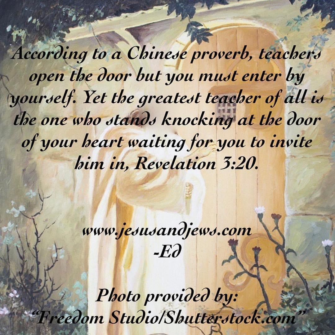 quotes for jesus on jesus knocking teacher