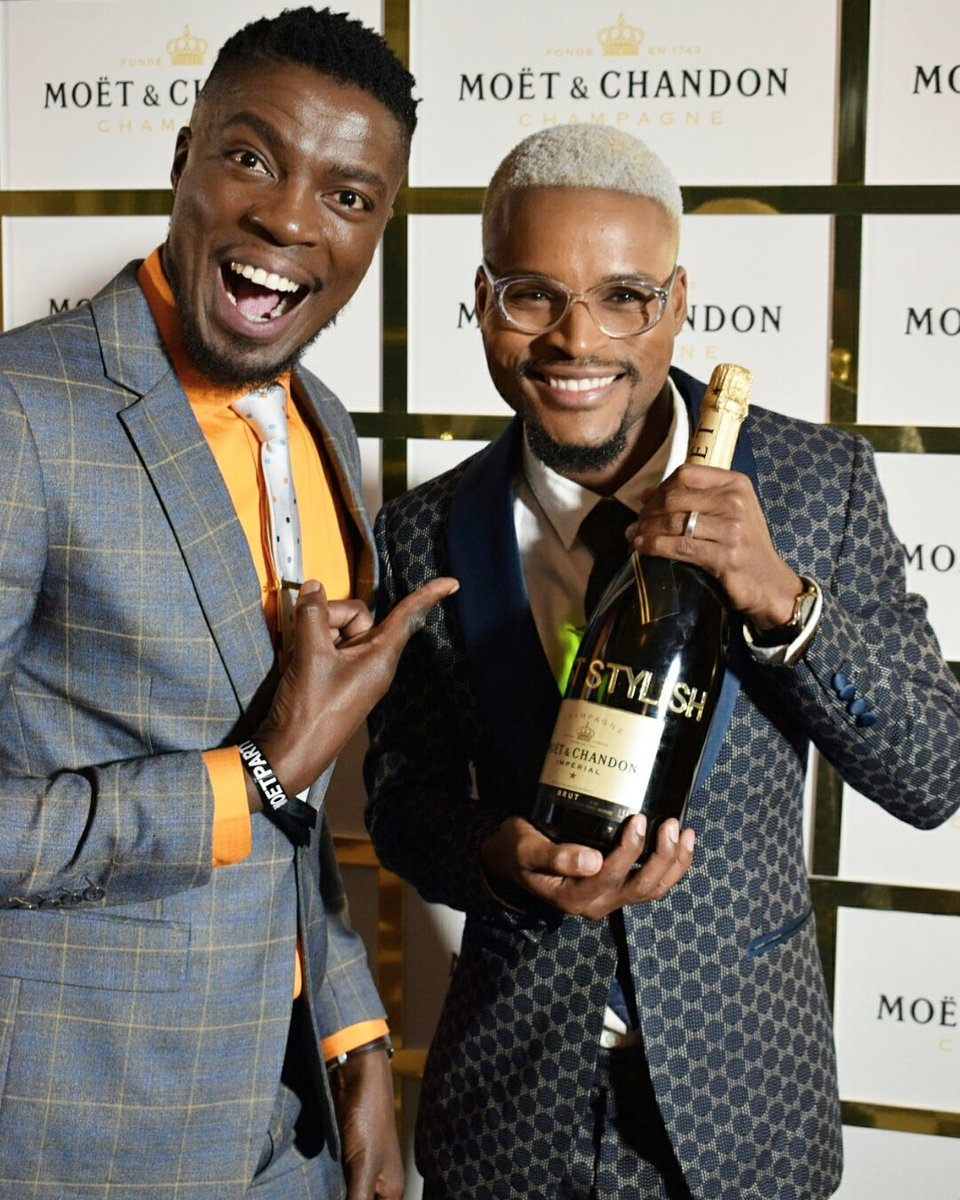 Coined it!  BEST STYLED MALEby @gqsouthafrica #moetchandon #moetpartyday #moetmzansiroyalty #pediboyswin #ootn @aaronmoloisi #menwithstyle <br>http://pic.twitter.com/OwV5wc23uk