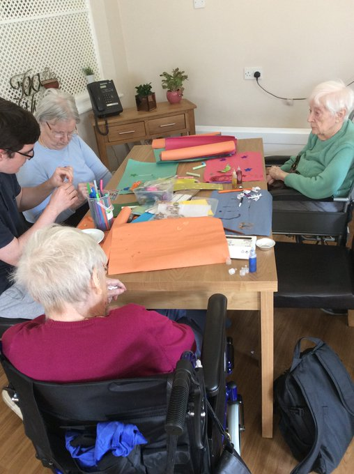 Arts and crafts on the agenda at Birch Green
