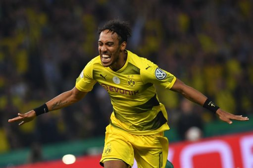 282 Games 134 Goals  Happy birthday to Dortmund\s speedy goalscorer Pierre-Emerick_Aubameyang...