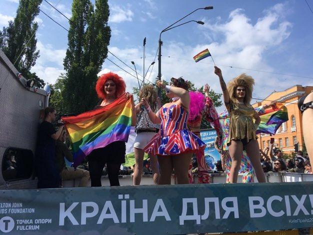 На Марші рівності у Києві постраждали двоє правоохоронців, шість осіб затримано - поліція