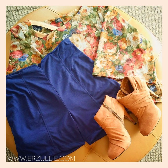 PLUS SIZE STYLE: ERZULLIE SHOWROOM OOTD INSPIRATIONS #0001