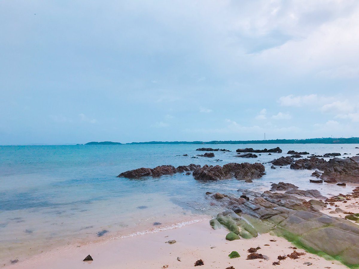 豆腐プロレスからのなかよし、 なおちゃん。  沖縄の海、めっちゃ綺麗です🐠🐬🏝
