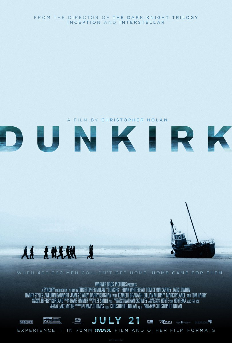 Threw together a #Dunkirk poster: https://t.co/4ok9X8AbGo