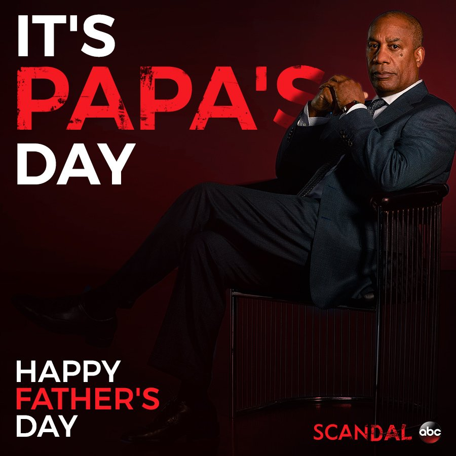 Happy #FathersDay from #Scandal! https://t.co/Lg1yOZeJ8L