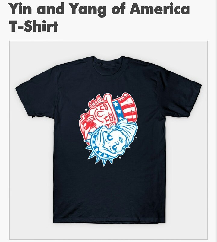 Grab one @teepublic american yinyang  https://www. teepublic.com/t-shirt/167229 1-yin-and-yang-of-america?store_id=6937 &nbsp; …  #america #american #yinyang #doodle #art<br>http://pic.twitter.com/gA6XG5kBCx