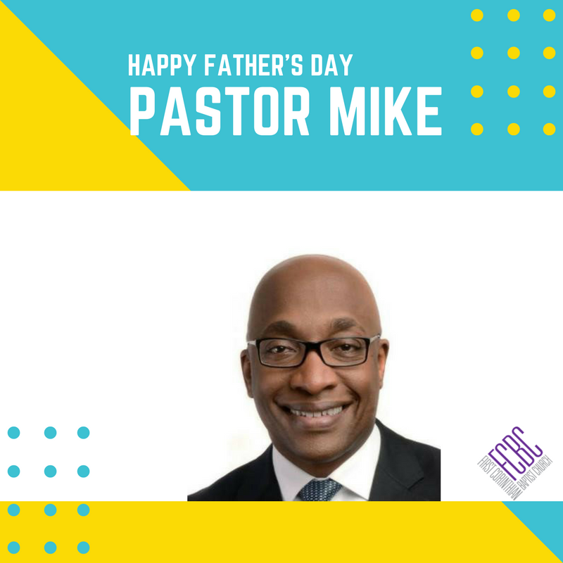 Happy Father's Day to Pastor @MikeWalrond from your FCBC Family! #FCBC...