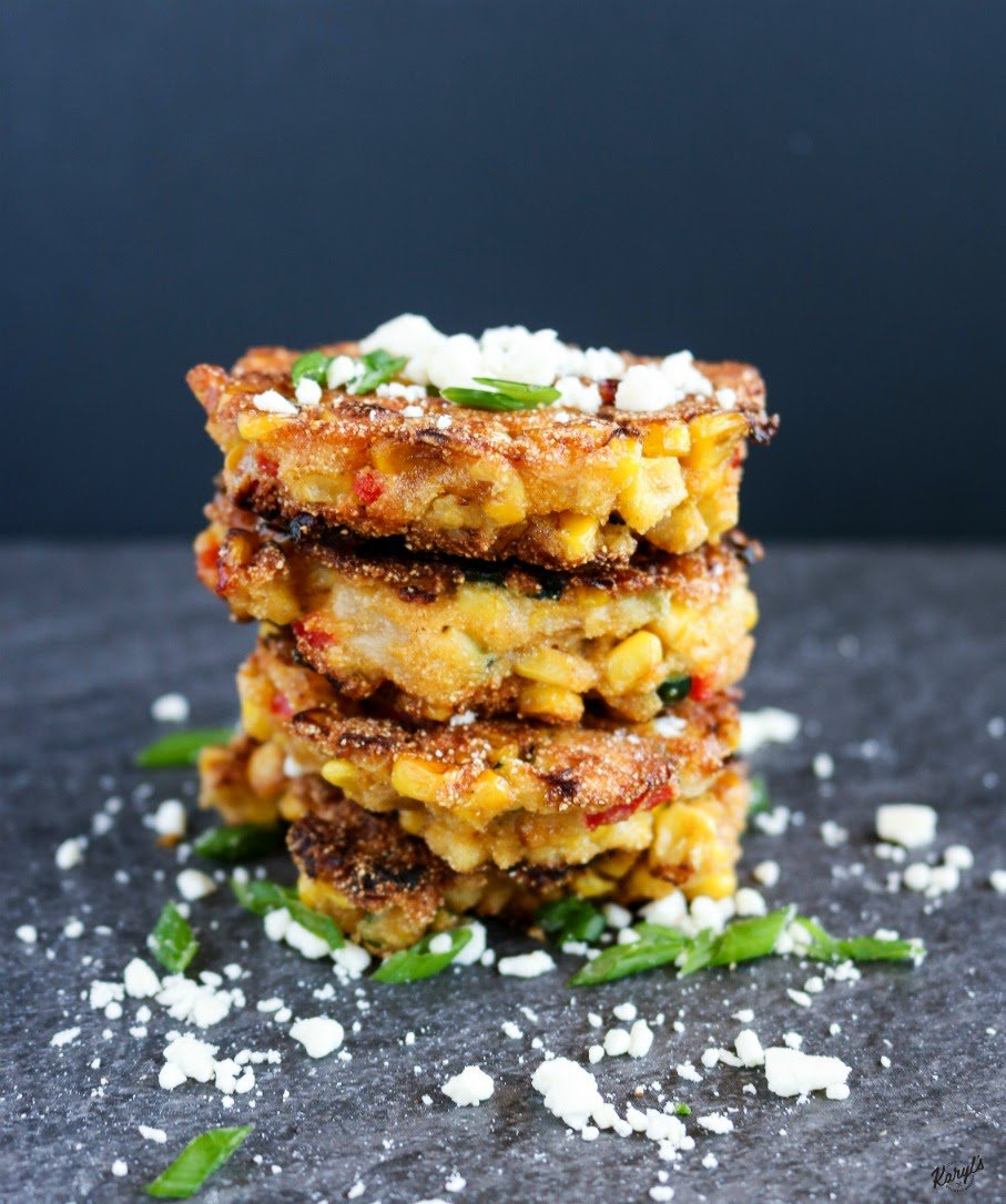 I&#39;m making Corn, Zucchini &amp; Red Pepper Cakes today. Savory, with a dash of sweet!   http:// bit.ly/2pPsaDS  &nbsp;    #veggies #homemade #avocadooil<br>http://pic.twitter.com/uaWMmp0LZ9
