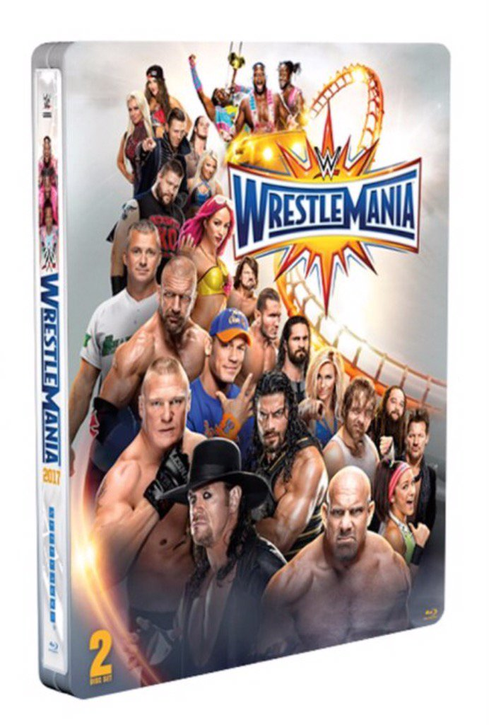 Last chance today! FOLLOW & RT for a chance to win the #WrestleMania 33 Steelbook! pic.twitter.com/tq8xzrhXrl