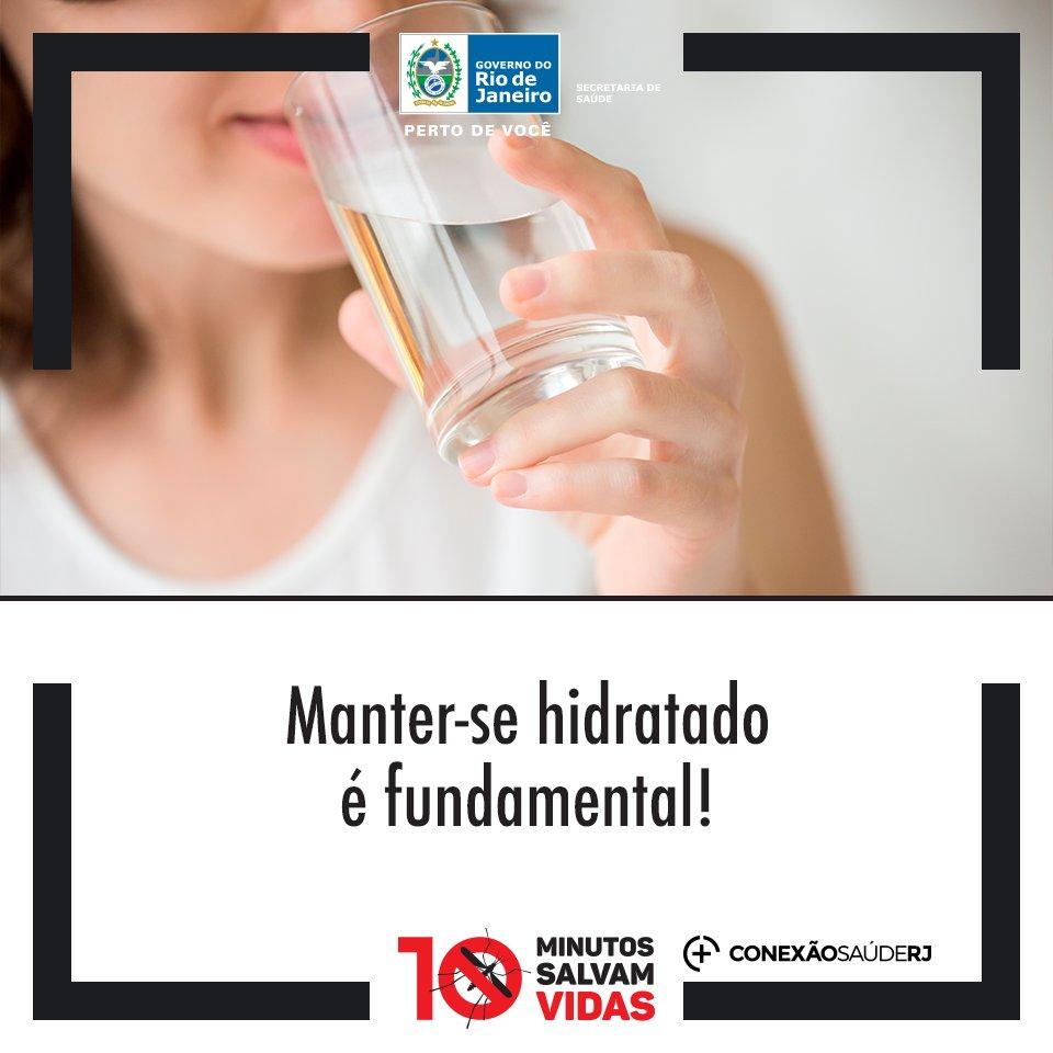 Beba bastante água! https://t.co/hbIO29FkrU