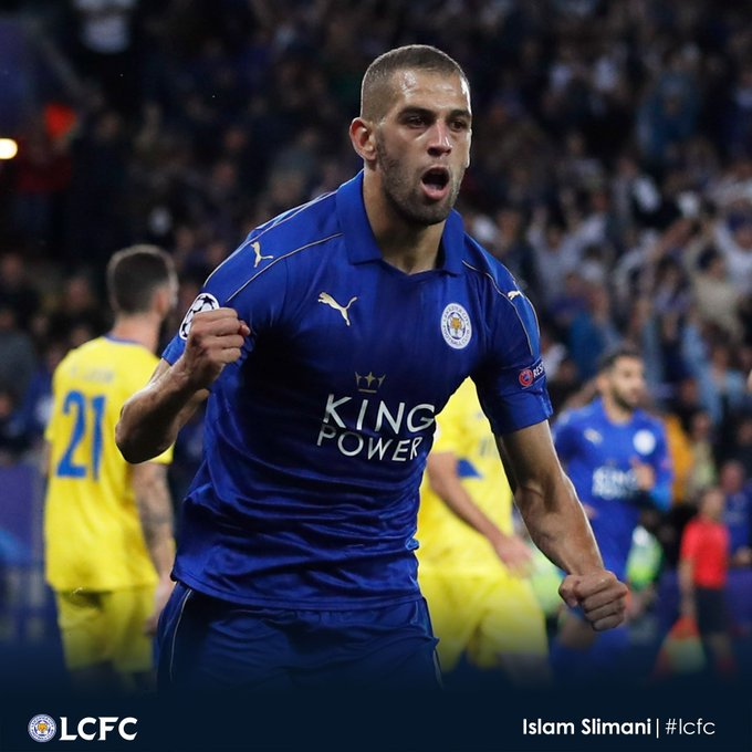 Happy Birthday Islam Slimani. i hope you will stay with us