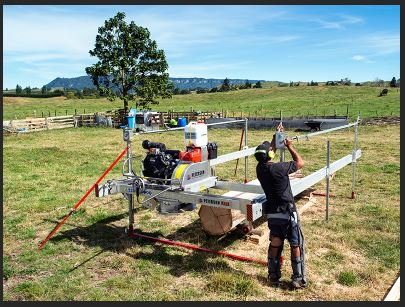 #predelivery #testing of our #ATS All Terrain Sawmill - check #onsite #setup video  http:// bit.ly/2q83jrd  &nbsp;  .<br>http://pic.twitter.com/QlW7xo24js