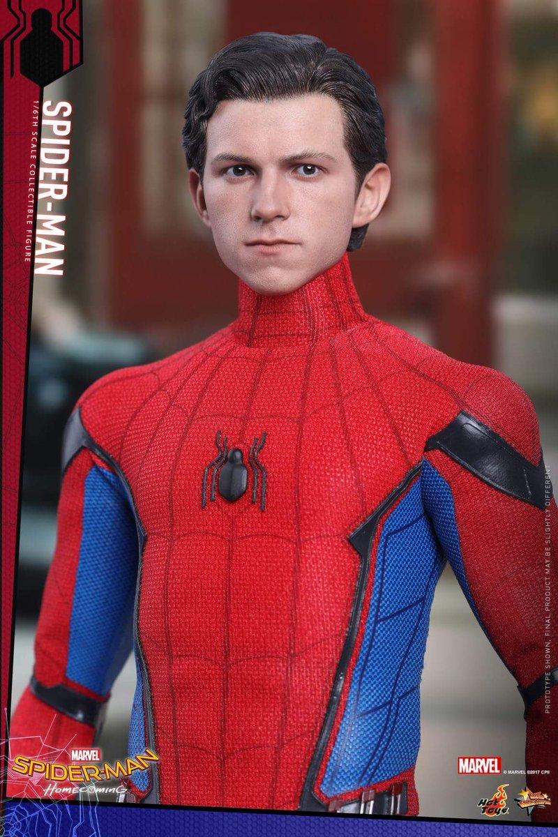 スパイダーマンホームカミング素顔