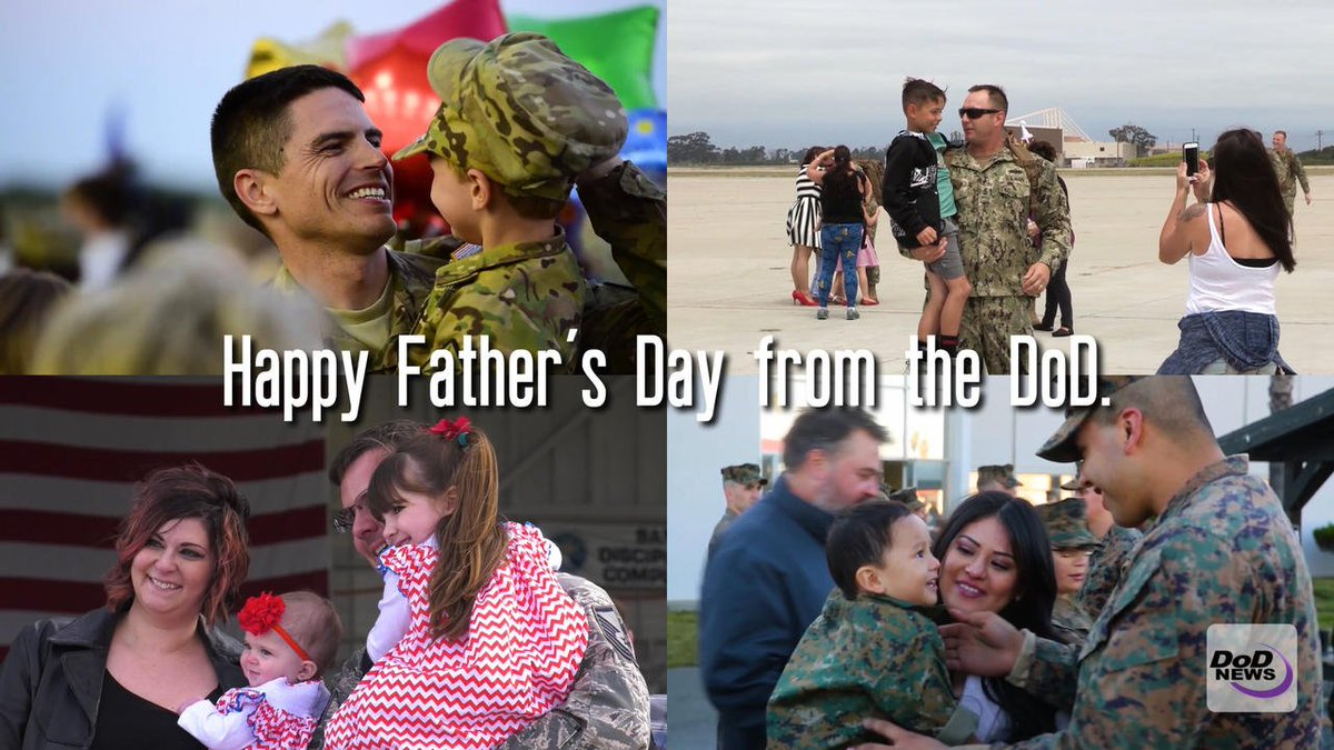 Happy Father's Day from the Department of Defense! #FathersDay #FathersDay2017 #HappyFathersDay
