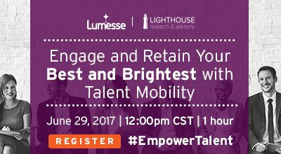 #Webinar: Engage and Retain Your Best and Brightest with #TalentMobility. #EmployeeEngagement #EmpowerTalent #HRTech  http:// ow.ly/8Xbt30cGc5i  &nbsp;  <br>http://pic.twitter.com/daMGP5uhi2