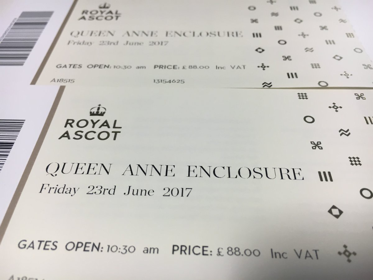 Ahead of our #CoralPreview tonight, we've got ANOTHER pair of Friday Royal Ascot Tickets to giveaway!   RT & Follow to win. Winner at 3pm.