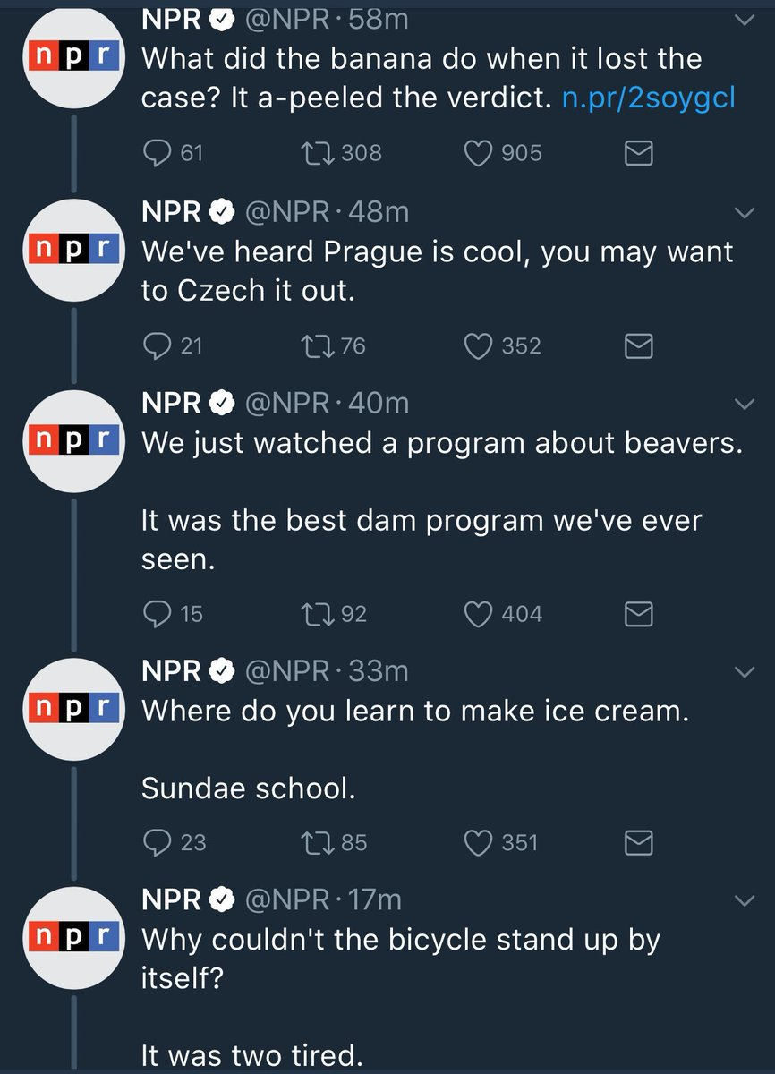 NPR is celebrating Father's Day the way our country's founders intended: with a barrage of dad jokes https://t.co/mAWuZF4V9q