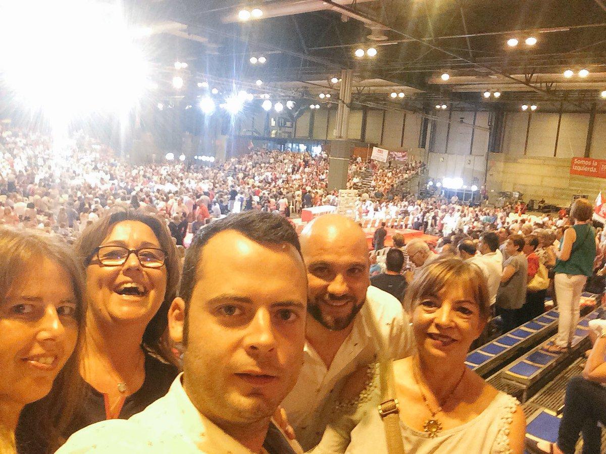 """Miguel Cimorra on Twitter: """"Que ilusión se ha vivido esta mañana en #39CongresoFederal de @PSOE #Pedrola no podía faltar! Enhorabuena compañer@s sobre todo ..."""
