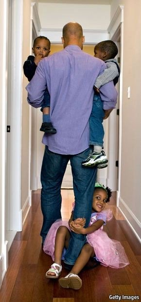 black fathers fathering