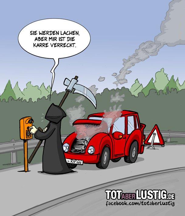 Tot Aber Lustig No Twitter Das Auto Einfach Mal Stehen Lassen Am