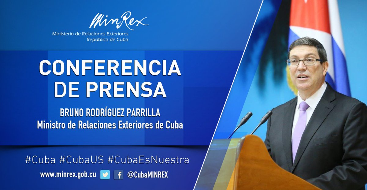 See live transmission of the press conference of the Minister of Foreign Affairs of #Cuba in #Viena  http:// youtube.com/user/cubaminrex  &nbsp;   #CubaUS<br>http://pic.twitter.com/4r64b5n2Yq