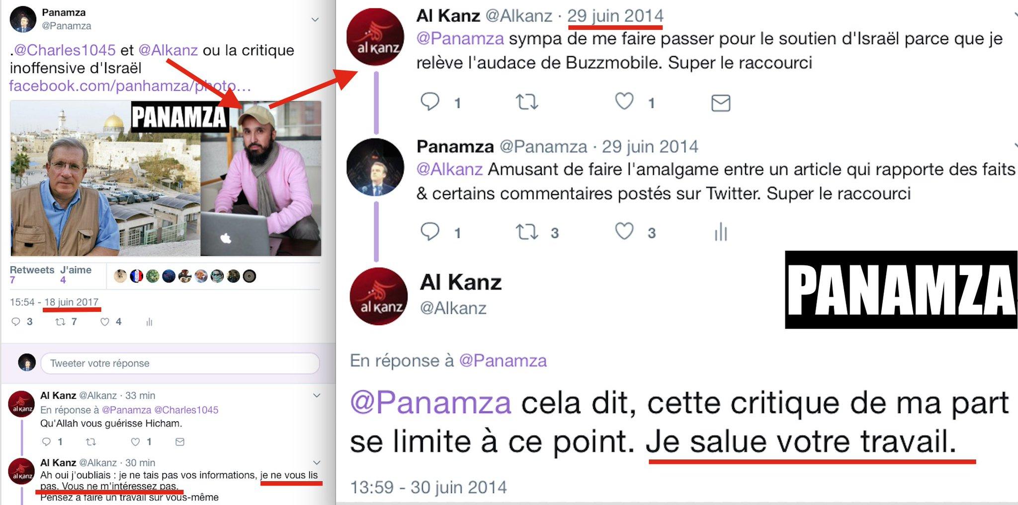 L'hypocrisie d'Al-Kanz en une image