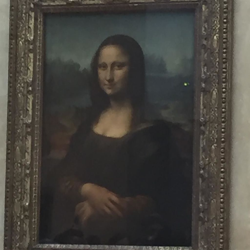 test Twitter Media - Mona Lisa! The Original! Feeling after encountering #MonaLisa - Leonardo da Vinci could have drawn a little bigger… https://t.co/xnQtcF1c8V https://t.co/AyremEAUf3