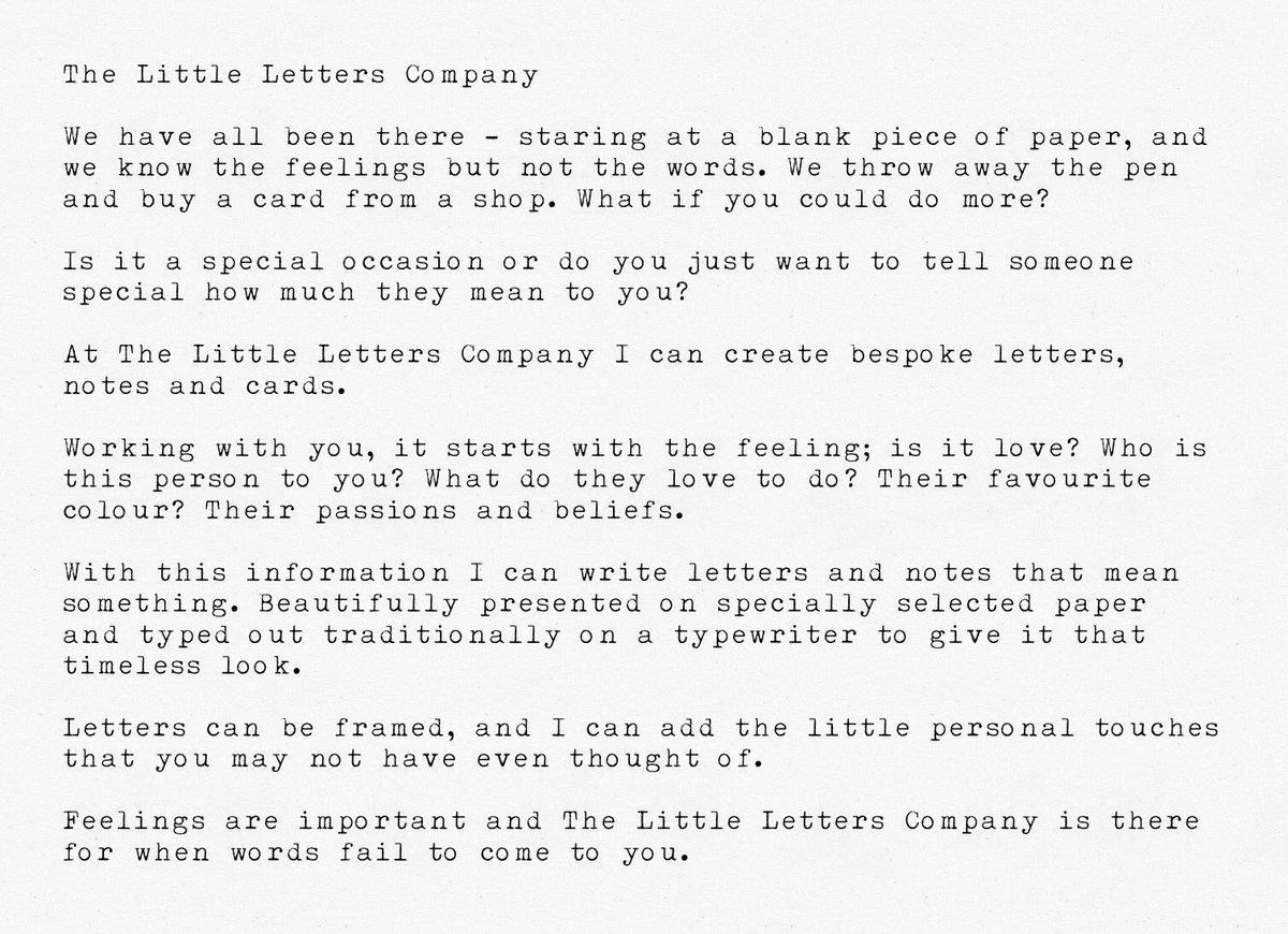 Little Letter Co (@LittleLetter_Co) | Twitter