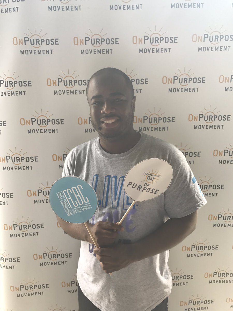 Kicking off our #dayofpurpose celebration with @FCBC_NYC! #FCBCOnPurpo...