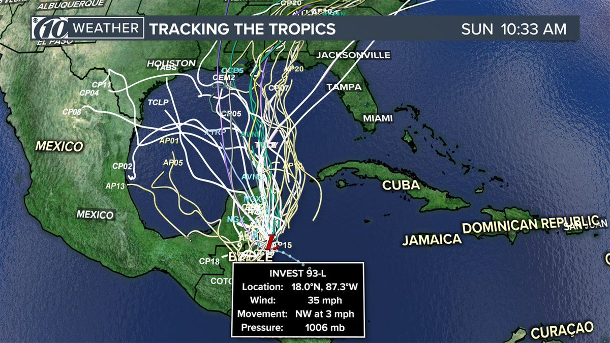 Hurricane center says storm 'likely' to develop in Gulf soon