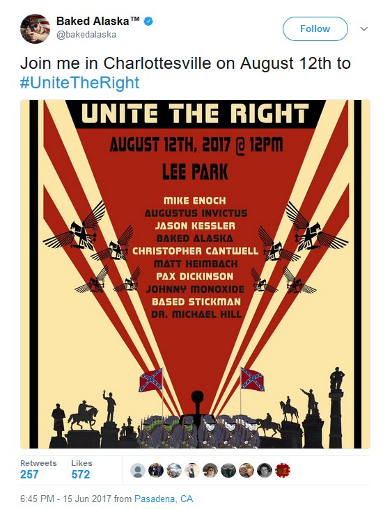 Image result for Charlottesville unite the right