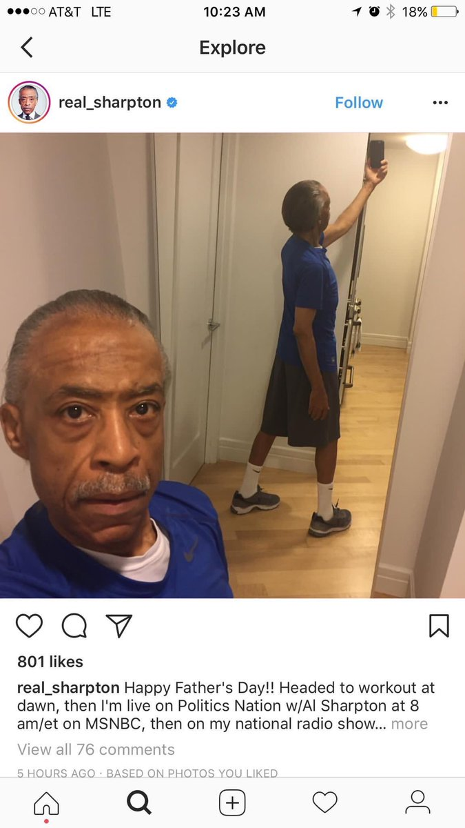 Al Sharpton look like a 12 year old in his P.E clothes for 3rd period.