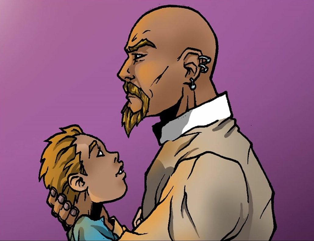 Being a Father is no easy task #HappyFathersDay #Gabriel  #NEWGENUniverse #comics<br>http://pic.twitter.com/0oRBzfSfPh