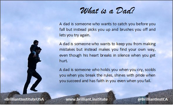 Any man can be a #father, but it takes someone special to be a #Dad. Happy Dad&#39;s Day! Please watch this video &lt;  http:// ow.ly/rR5G30czxq  &nbsp;   &gt;<br>http://pic.twitter.com/581TrcbO6q